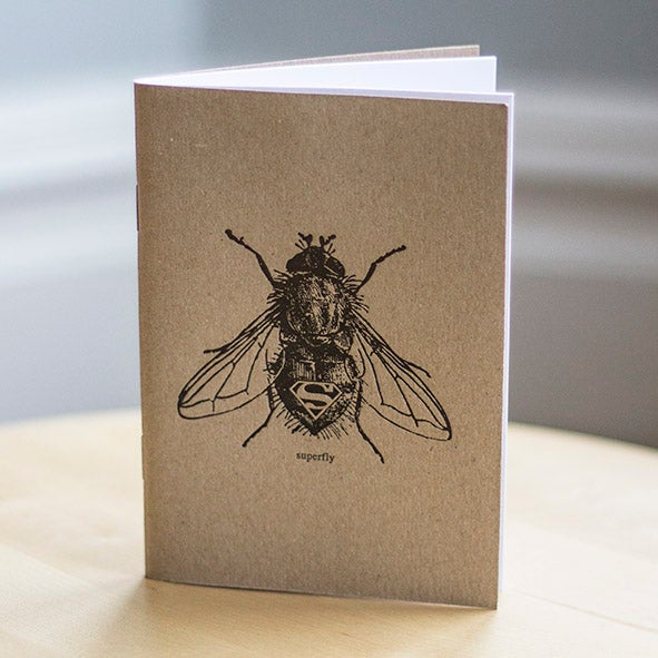 Superfly Letterpress Notebook 2