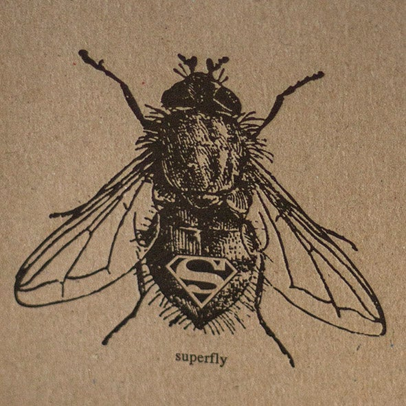 Superfly Letterpress Notebook 1