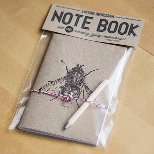 Superfly Letterpress Notebook 3