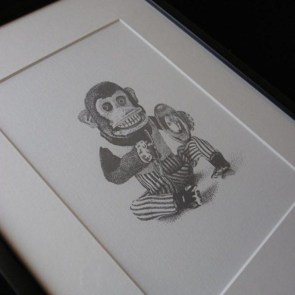 Monkey Madness Letterpress Print 3