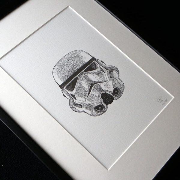 Stormtrooper Letterpress Print 3