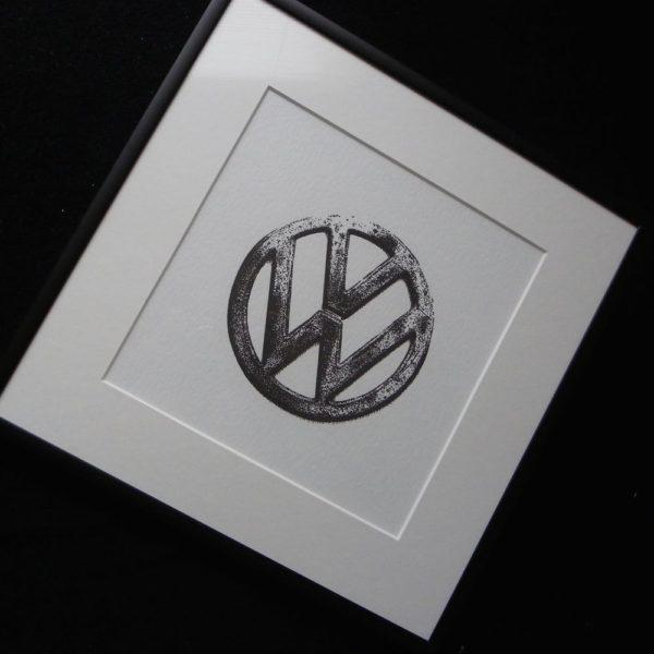 VW Letterpress Print 3