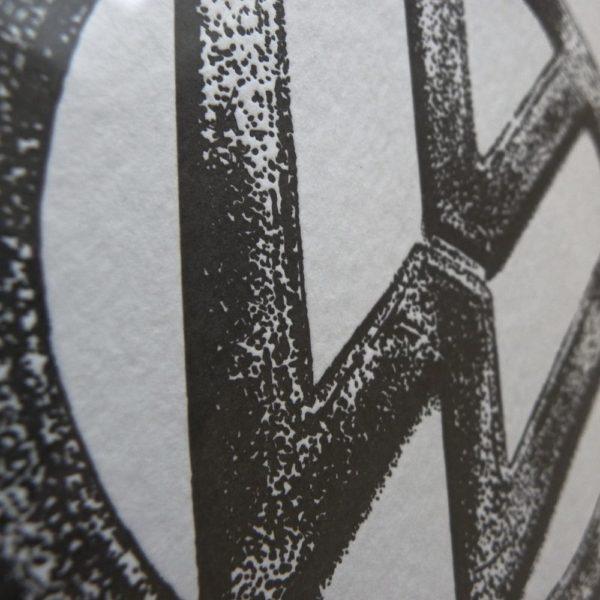 VW Letterpress Print 2