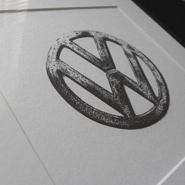 VW Letterpress Print 1